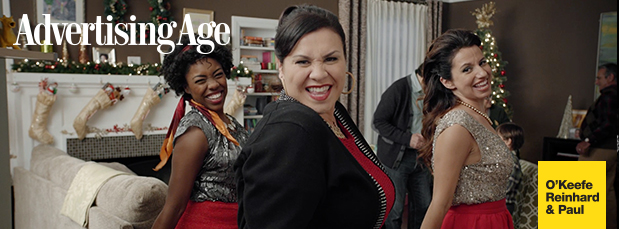 Advertising Age featuring Deanna's lead in the 2014 BIG LOTS 'Nailed It' holiday commercials.