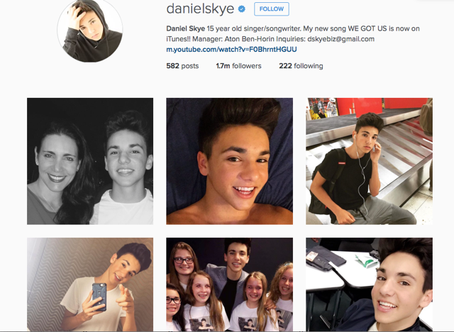 "You will soon be hearing Deanna's background vocals on Daniel Skye's  song ""Smile""!"