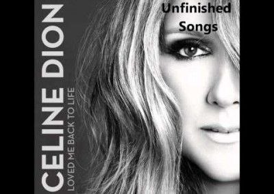 "Background Vocals on Celine Dion ""Unfinished Songs"""