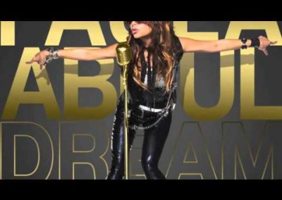 "Background Vocals on Paula Abdul ""Dream Medley"""