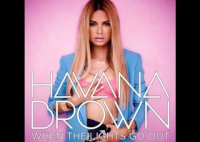 "Background Vocals on Havana Brown ""One Way Trip"""
