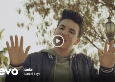 "Background vocals on ""Smile"" by Daniel Skye"