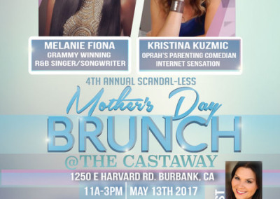 Deanna hosts 4th annual Scandal-less Mother's Day brunch